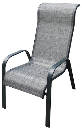 Seasonal Trends Chair Stack, Covered Back Gray
