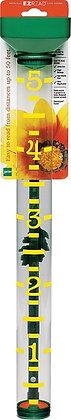 EZRead 820-1002 Rain Gauge, 5 in, Yellow