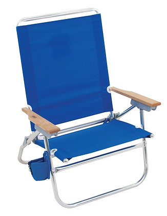 Rio Brands In-Easy Out 4-Position Beach Chair
