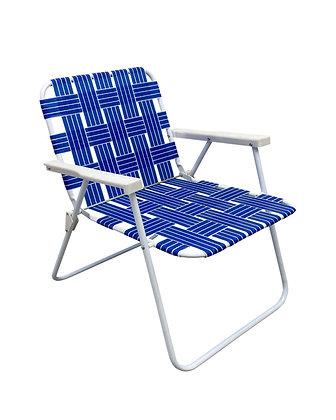 Seasonal Trends Folding Web Chair - Blue