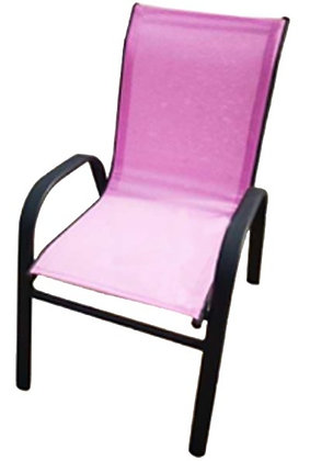 Seasonal Trends Kiddy Stack Chair, Bright Pink