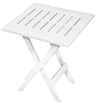 Gracious Living Adirondack Side Table, White