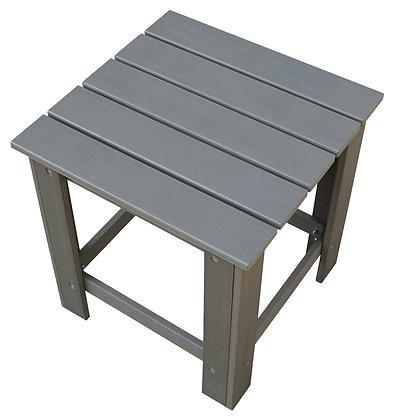"""Seasonal Trends Resin Wood Table, 18""""x18"""""""