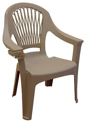 Adams Big Easy High-Back Chair, Portobello