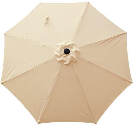 Seasonal Trends Market Umbrella Market, Beige Breeze, 9 ft