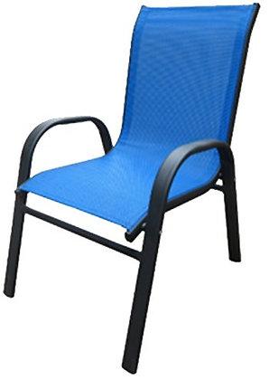 Seasonal Trends Kid Stack Chair, Bright Blue