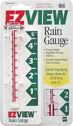 EZView 820-0188 Rain Gauge, 5 in Measuring