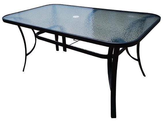 Seasonal Trends Glass Top Table, 38 in x 60 in