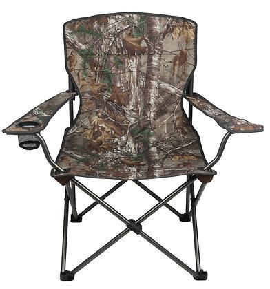 Seasonal Trends Folding Chair, Steel W/Realtree Fabric