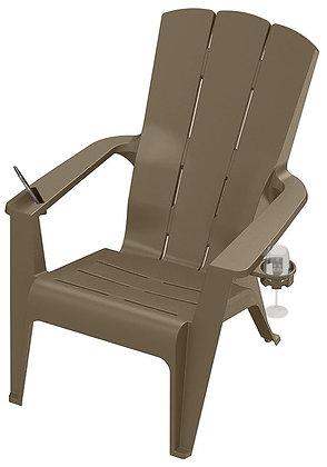Gracious Living Contour Adirondack Chair, Woodland Brown