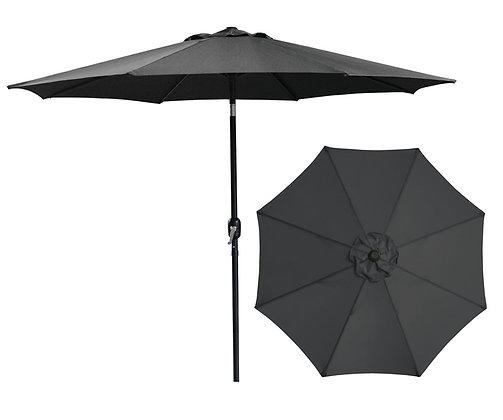 Seasonal Trends Crank Umbrella, Black