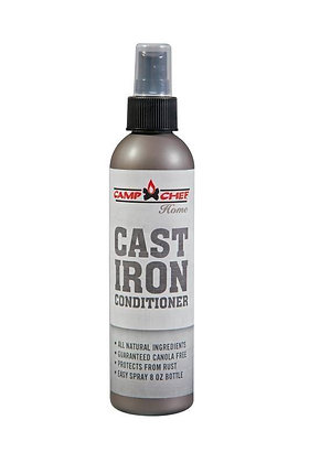 Camp Chef Premium Cast Iron Conditioner (8 Ounce Spray On)
