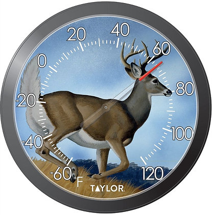 Springfield 6769 Winter Deer Thermometer