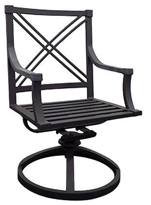 Standing Trends Audubon Swivel Chair, Aluminum 2 Pc