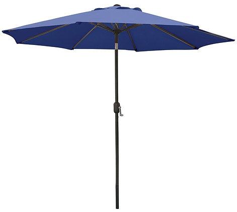 Seasonal Trends Umbrella, 9' W, Blue