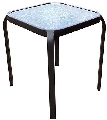 Seasonal Trends Steel Side Table