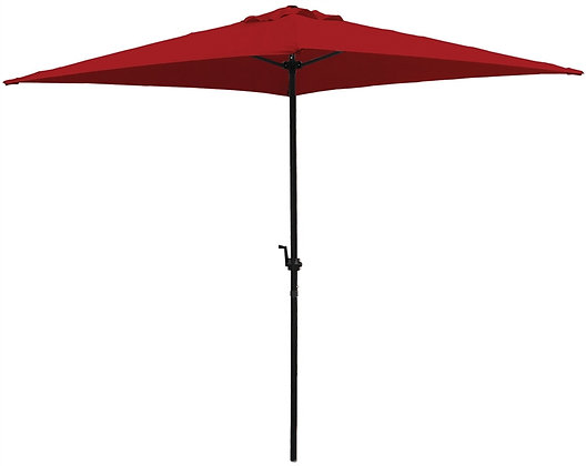 Seasonal Trends 6.5 ft Square Canopy, Red