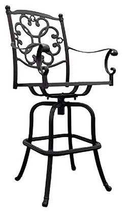 Standing Trends Athena Bar Stool, 2 Pack