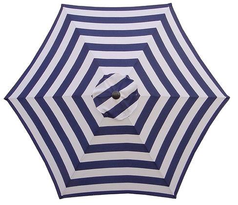 Seasonal Trends Round Canopy, Navy/White