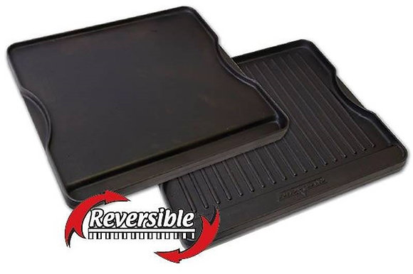 """14""""x16"""" Reversible Cast Iron Grill/Griddle"""