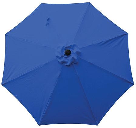 Seasonal Trends Market Umbrella, Tahoe Blue, 9 ft