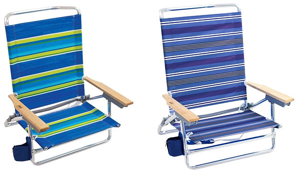 Rio Brands 5-Position Lay-Flat Chair