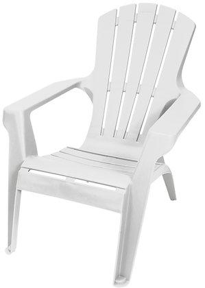 Adirondack Chair, White