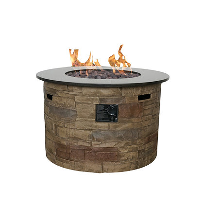 MORGAN TOOL 52074 Morgan Hill 36 in Round Fire Table