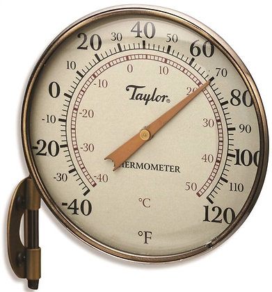 Taylor 481BZN Dial Thermometer, 4-1/4 in