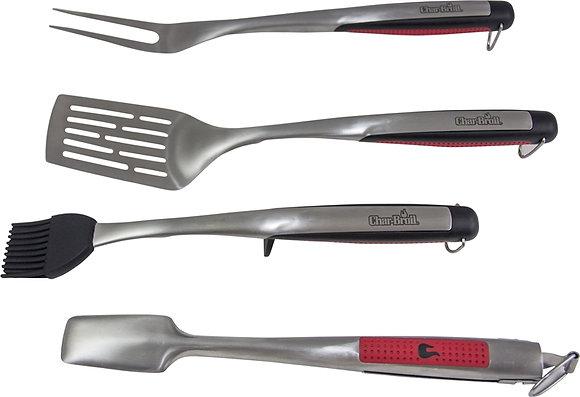 Char-Broil Comfort-Grip™ 4-Piece Tool Set
