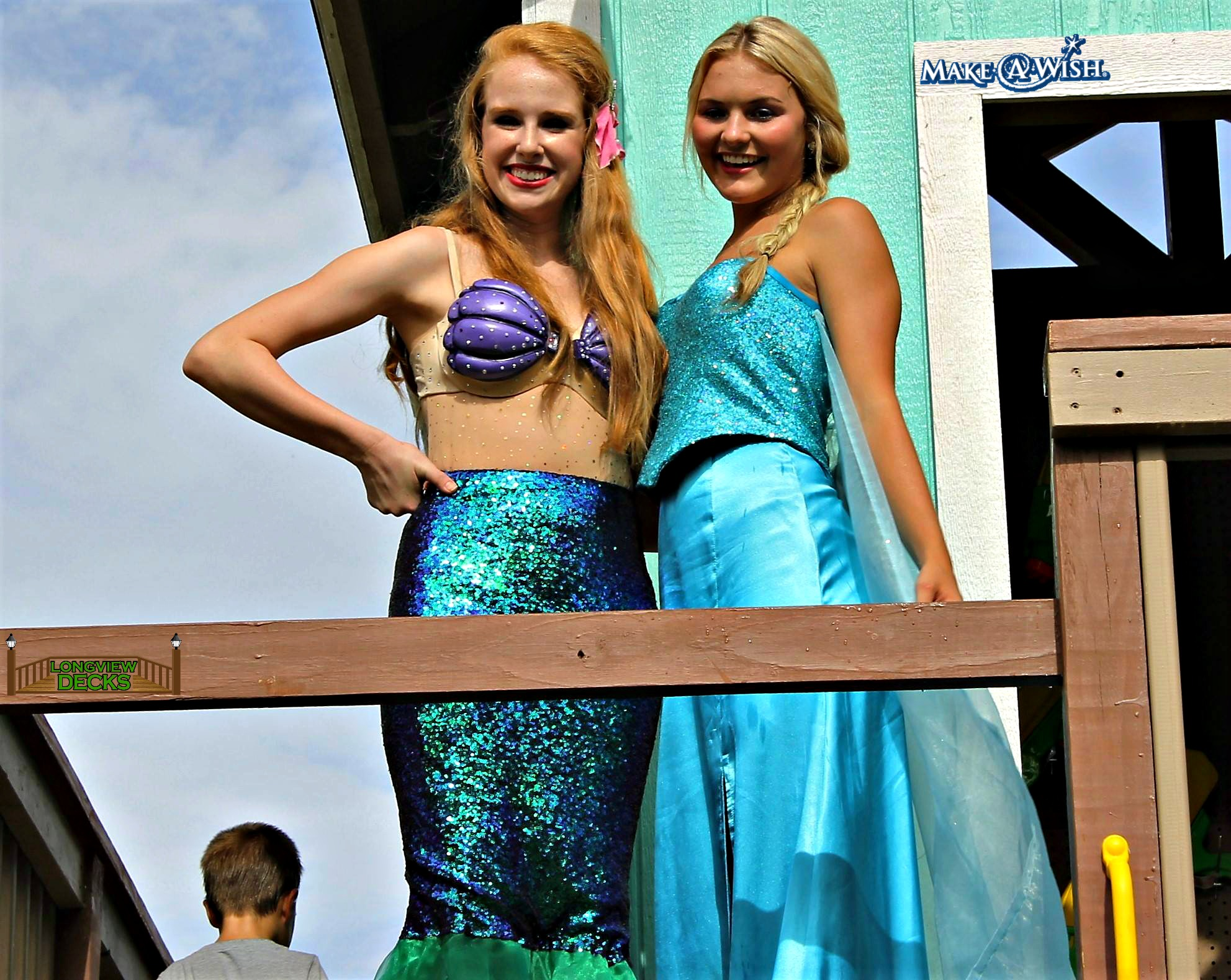 Little Mermaid & Elsa