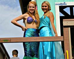 Little Mermaid & Elsa