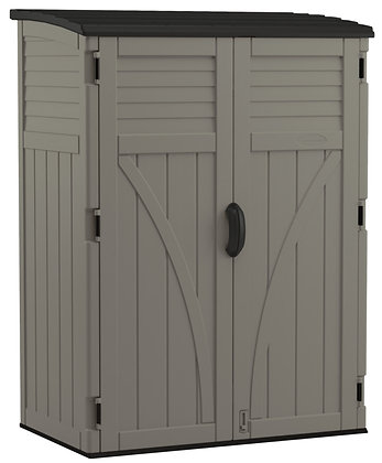 SHED VERTICAL STOR GRY 54CU FT