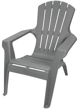 Gracious Living Adirondack II Chair, Flat Gray