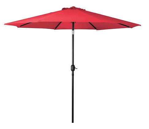 Seasonal Trends Crank Umbrella,9' W, Burnt Sienna
