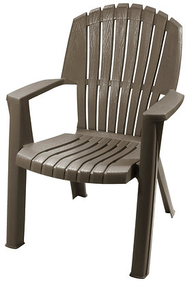 Gracious Living High-Back Chair, Woodland Brown