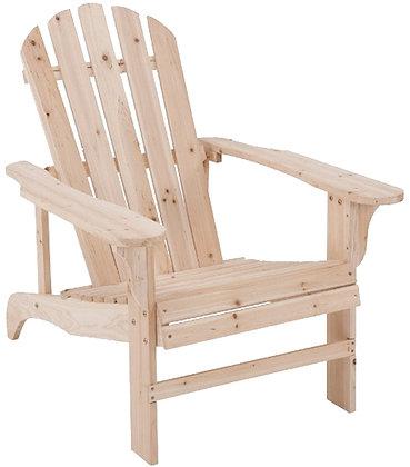 Seasonal Trends Adirondack Chair Natural Frame