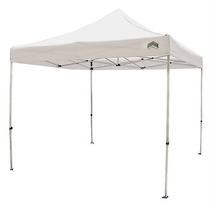 Seasonal Trends Titan Canopy, Steel Frame, Polyester Canopy, White Canopy