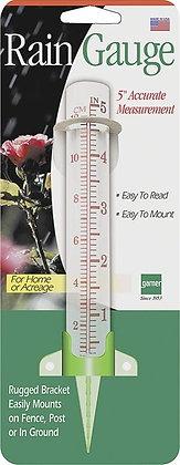 EZRead 820-0409 Rain Gauge, 5 in