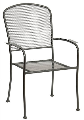 Seasonal Trends Arlington Stackable Patio Chair with Mesh