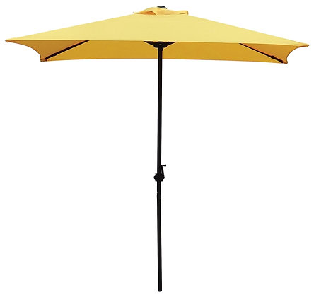 Seasonal Trends Market Umbrella, Yellow