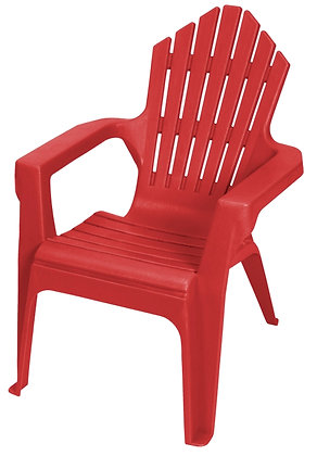 Gracious Living Kiddie Adirondack Chair, Red Explosion