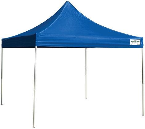 Seasonal Trends Caravan Canopy, 10 ft L, 10 ft W, 10.6 in H, Steel Frame