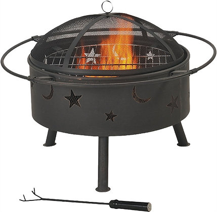 Seasonal Trends FT-112 Round Outdoor Firepit