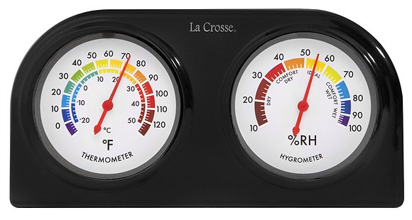 La Crosse 104-288 Temperature and Humidity Gauge
