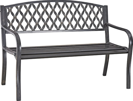 Seasonal Trends Park Bench, Steel Frame