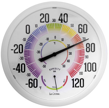 La Crosse 104-1534A Thermometer with Humidity
