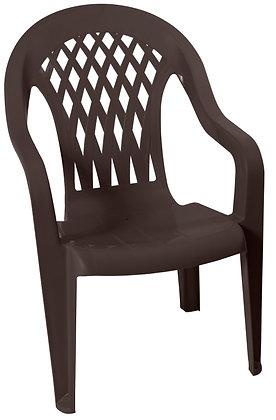 Gracious Living High-Back Chair, Earth