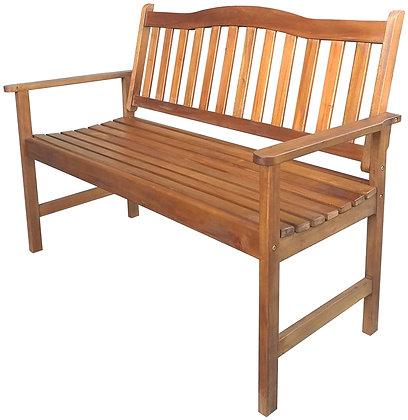 Seasonal Trends Wood Park Bench, 4 ft