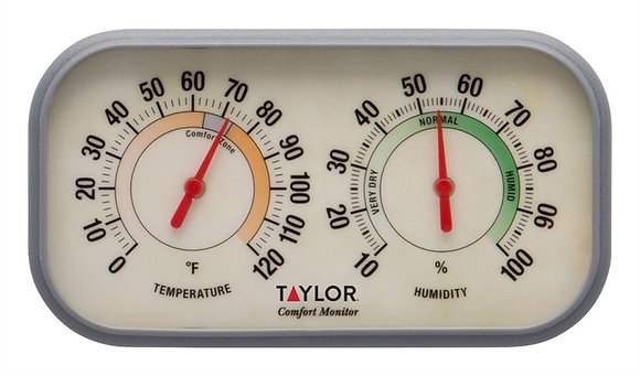 Taylor 5506 Monitor Thermometer and Humidity Reader